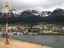 Ushuaia - Tierra Del Fuego - Patagonia - Argentina Arkivbild