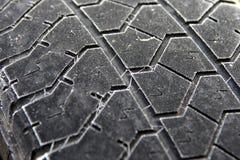 Usi i pneumatici dell'inverno Immagine Stock Libera da Diritti