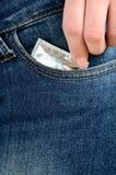 Usi il condome Fotografia Stock