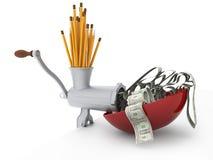 Usi il vostro immagination e faccia i soldi Immagini Stock
