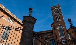 Usina-del Arte Cultural Center, La Boca, Buenos Aires, Argentinien Italienischer angeredeter Turm lizenzfreie stockfotos