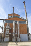usine à gaz de 19ème siècle à Athènes, Grèce Photo libre de droits