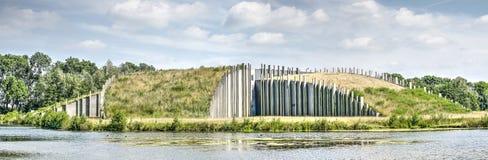 Usine écologique de purification d'eau photos libres de droits