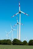 Usine éolienne en Allemagne Image libre de droits