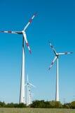 Usine éolienne en Allemagne Photographie stock