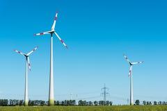 Usine éolienne en Allemagne Image stock
