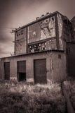 Usine abandonnée Photo libre de droits
