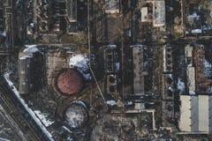 Usine abandonnée urbaine photographie stock