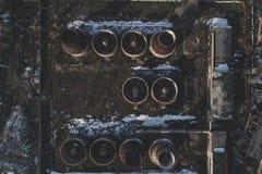 Usine abandonnée photographie stock
