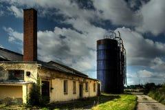 Usine agricole image libre de droits