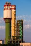 Usine chimique, pour la production de l'ammoniaque Photos libres de droits