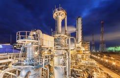 Usine chimique pour la production du fertilisation à ammoniaque et à azote Photos libres de droits