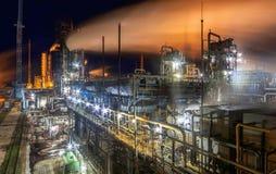 Usine chimique pour la production du fertilisation à ammoniaque et à azote Images libres de droits