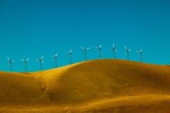 Usine d'énergie éolienne Photos stock
