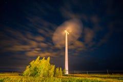Usine d'énergie éolienne Photo stock