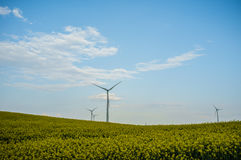 Usine 03 d'énergie éolienne Images libres de droits