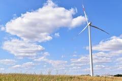 Usine d'énergie éolienne dans Alibunar, Serbie Image libre de droits