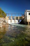 Usine d'énergie hydroélectrique de Chemal photo libre de droits