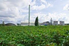 Usine d'éthanol photographie stock