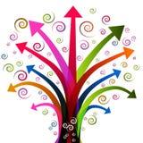 Usine d'arbre de flèche illustration libre de droits