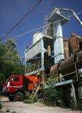 Usine d'asphalte en Ukraine Photos stock