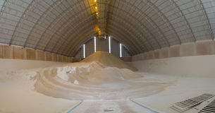 Usine d'usine de storange de sucre photos stock