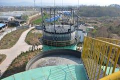 Usine 5 d'ingénierie de biogaz Photographie stock libre de droits