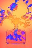 Usine dans la lumière infrarouge Photos libres de droits