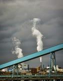 Usine dans le port Townsend, Washington photo libre de droits