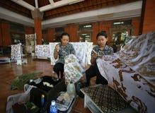 Usine de batik Photos libres de droits