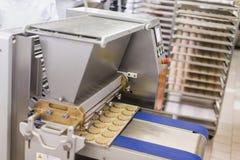 Usine de biscuits photos stock
