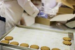 Usine de biscuits photo libre de droits