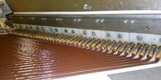 Usine de chocolat Photographie stock libre de droits