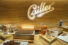 Usine de chocolat, boutique image libre de droits