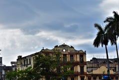 Usine de cigarettes - La Havane photo libre de droits