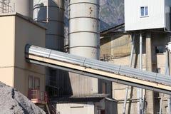 Usine de ciment photo libre de droits