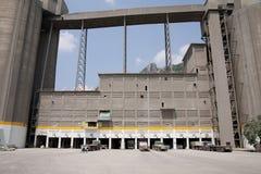 Usine de ciment de Siemens image libre de droits