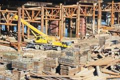 Usine de construction photo stock