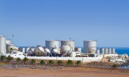 Usine de dessalement Images libres de droits