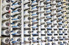 Usine de dessalement de l'eau Image stock