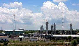 Usine de gaz image stock