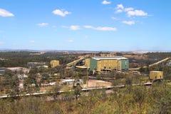 Usine de lavage de mine de charbon Photo libre de droits