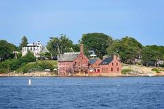 Usine de peinture, Gloucester, le Massachusetts Photos libres de droits