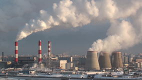 Usine de pollution clips vidéos