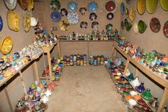 Usine de poterie Photo libre de droits