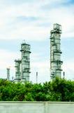 Usine de produit chimique et de pétrole Photographie stock