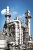 Usine de produit chimique et de pétrole Photos stock