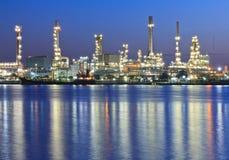 Usine de raffinerie Image libre de droits