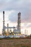 Usine de raffinerie de pétrole photo libre de droits