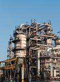 Usine de raffinerie pétrochimique Images libres de droits